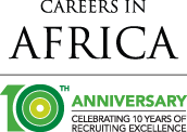 Careers in Africa 10th Anniversary Logo