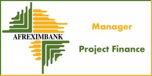 Manager Project Finance