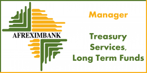 Manager Treasury Services